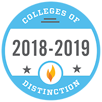 Colleges of Distinction 2017-2018