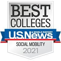 U.S. News and World Report, Best Colleges 2021, Social Mobility