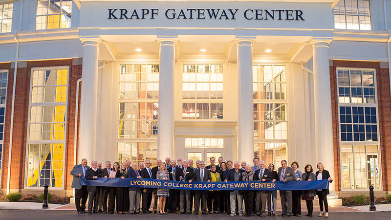 Dedication of Krapf Gateway Center